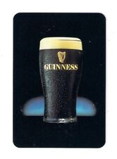 playing cards, Guinness poster size deck, 12 classic images, glass of beer,