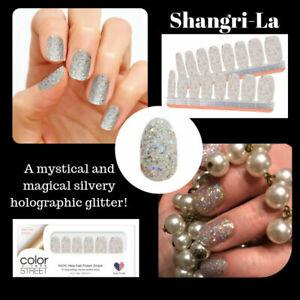 m9L3GoColorStreet SHANGRI-LA Nail Strips Glitter NEW RETIRED  **+TWOSIES**