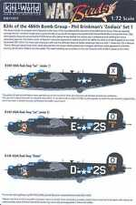 Kits World Decals 1/72 CONSOLIDATED B-24 LIBERATOR ZODIACS Part 1