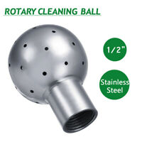 1/2'' Stainless Steel Female Thread Fix Ball Sanitary Rotary Cleaning Spray Ball