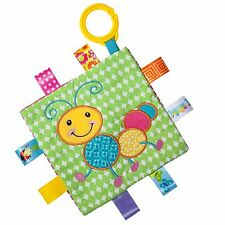 TAGGIES Crinkle Me Caterpillar Colourful Crinkle Soother Buggy/Stroller Toy