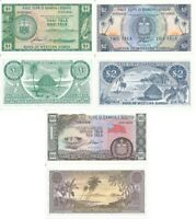 Samoa set 3 banknotes 1 2 10 Tala 1967 - 2020 Limited official repr Serie S UNC