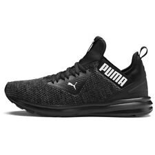 PUMA Men's Enzo Beta Woven Running Shoe Black size 13