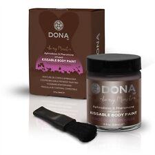Dona Kissable Body Paint - Chocolate Mousse - 2 Oz. Aphrodisiacs and Pheromones