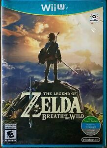 The Legend of Zelda: Breath of the Wild - Wii U UAE Brand New