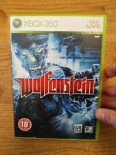 Wolfenstein XBOX 360 Spiel komplett mit Anleitung sehr guter Zustand-Free p&p
