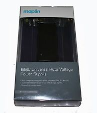 Maplin 65W Universal Auto Voltage Power Supply WITH 12 Tips - RRP=£39.99