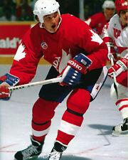 Mario Lemieux - Canada Cup 1987, 8x10 Color Photo