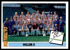 Panini Voetbal '93 (Netherlands) Team Willem II Teams PTT Telecompetitie No. 249