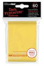 Ultra Pro Small Yellow Deck Protector 60ct