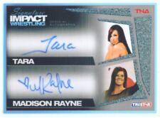 "TARA & MADISON RAYNE ""AUTOGRAPH CARD /99"" TNA SIGNATURE IMPACT"