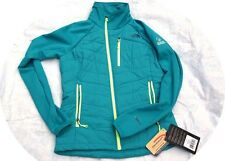 Women North Face Pemby Hybrid Jacket COAT Teal Medium M