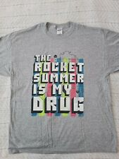 The Rocket Summer Is My Drug Grey Tee - X-Large