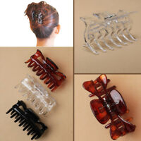 3 Large Butterfly Hair Claw Clips Clamps Girls 9CM Women DIY Styling Clip Clamp