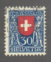 Switzerland stamp #B32, used, semi postal, BOB,  SCV $21.00