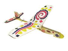 2PC Lanyu Hand Launch Balsa Wood Glider Plane DIY Build&Paint Model Kit, US 7013
