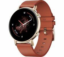 HUAWEI Smart Watch GT 2 Water Resistant GPS Red 42 mm - Currys