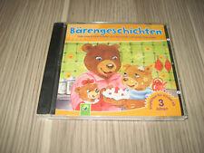 (X2) CD Bärengschichten Brummel und seine Freunde