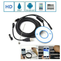 2M 6LED 7mm USB Android Endoscope Borescope Inspection Camera for PC/Cell Phone