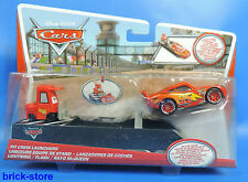 Disney Cars Pit Crew Launchers /  Y7887 / Ligtning / Flash / Rayo McQueen