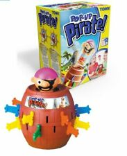 "Tomy Original Pop-Up Pirate Game Jumping Family Children Fun Activity 5.5"" Tall"