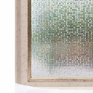 CottonColors Brand Window Film 3D Static Privacy Decoration Self Adhesive for UV