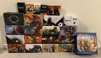 Lot Of 16 Empty MTG Fat Pack Storage Boxes & Extras Return To Ravnica Theros Nyx