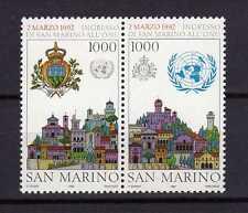 14364) SAN MARINO 1992 MNH** Ingresso ONU