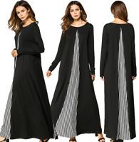 Islamic Abaya Women Muslim Long Dress Jilbab Dubai Kaftan Cocktail Maxi Robe New
