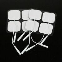 2/10Pcs Massagers Machine Electrode Pads Self Adhesive Massage Care Therapy Pad
