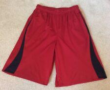 Boys Nike Athletic Basketball Shorts Red And Black Medium 10-12yrs