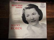 Mado Robin - airs pour soprano coloratura -  decca  LW 5239