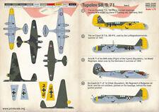 Print Scale Decals 1/72 Tupolev SB/B.71 Part 3 # 72295