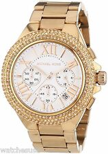 Michael Kors MK5636 Women's Camille Rose Gold-Tone Stainless Steel Watch