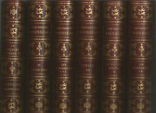 LOT 9 VOLUMES J.-J. ROUSSEAU. EDITIONS ATHENA NUMEROTEE. TRESORS DE L'HUMANISME