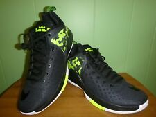 Nike Zoom Witness Men's Basketball Shoes Sz.11.5 US Black/Volt New No Box