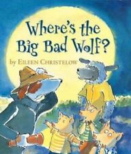Where's the Big Bad Wolf?-ExLibrary