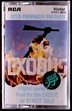 Ernest Gold – Exodus - Original Soundtrack LP CASSETTE RCA VICTOR SEALED OOP