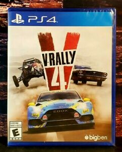 V-Rally - PS4 - Sony PlayStation 4 - Brand NEW - Sealed