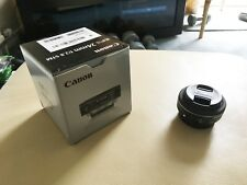 Canon EF-S 24 mm f/2.8 STM Lens (NEVER USED)