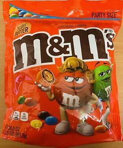 M&M's M&Ms MMs Peanut Butter Party Size - 34oz 963g XXL Bag UK Seller