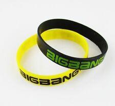 BIGBANG big bang Support Fans Wrist Band Bracelet 2pcs YellowXBlack