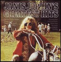 JANIS JOPLIN - GREATEST HITS D/Remaster CD w/BONUS Trax ~ 60's ACID ROCK *NEW*