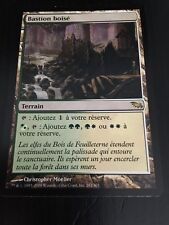 MTG MAGIC SHADOWMOOR WOODED BASTION (FRENCH BASTION BOISE) NM