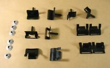 1962 1964 Pontiac Chevy; Olds 4 Door Back Glass Reveal Molding Clips GM # 484539