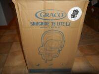 Graco SnugRide 35 Lite LX Infant Car Seat HAILEY 2110187
