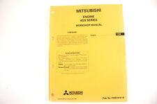 Mitsubishi 4G9 eng Nov 1995 factory workshop manual nos