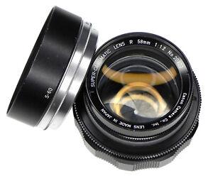 Canon R Super-Canomatic 58mm f1.2 Canon EOS mount  #20920