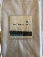 Curtainworks Soho Voile Poletop Curtain Panel, 59 x 120