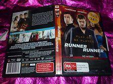 RUNNER RUNNER : (DVD, MA15+) (EX RENTAL)